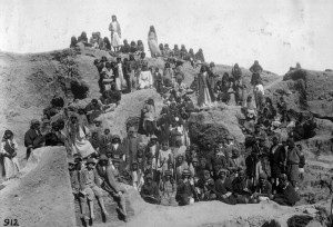 Workers from Leonard Woolley's expedition at Ur. Photograph from the Penn Museum's blog: http://www.penn.museum/blog/museum/ur-digitization-project-november-2012/